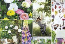 The Happy Life - 2015 tuintrend / The Happy Life: Een tuin die vrolijk, speels en kleurrijk is en waarin ruimte is voor sociale ontmoetingen.  We zien speelse objecten, zoals schommelelementen, vrolijke dessins en een mix van pastels en felle kleuren. De gebruikte materialen zijn vaak gekozen om het gebruiksgemak, veel gladde kunststofmaterialen.  Een bonte combinatie van vrolijke bloeiende planten  voert de boventoon.