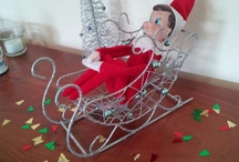 Our elf on the shelf..Jingle Bell