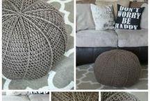 Zpaggeti / t-shirt yarn projects