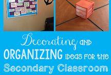 Classroom Setup / Ideas for my Math Classroom~