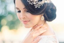 tiaras para noivas e penteados