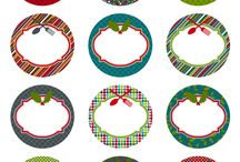 Celebrate: Christmas: Tags and Gift Giving / Christmas Gift Tags