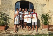 Tuscany Cooking Vacations / Cooking Classes and Private Dinners while staying at your holiday home. Drink wine with your friends and family: you've not to drive back safely!