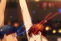Kagami and Aomine
