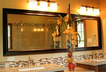 Framed Mirrors / Fashion Glass & Mirror, LLC specializes in producing custom-fit mirrors and glass to complement your decorating style. We can provide anything from standard-sized vanity mirrors to completely mirrored rooms.