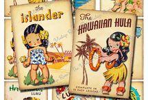 Hawaii Birthday Card
