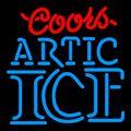 Coors Light Neon Beer Sings & Lights