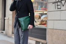 Men's Easy Looks Idea / The tip on wearing in holidays / by Sunghan Jung