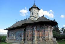 Bukovina, Romania / Photos taken by David Stanley on a visit to the painted monasteries of Bukovina, Romania.