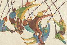 Interwar prints