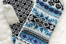 Knit/mittens