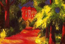 Painting. August Macke