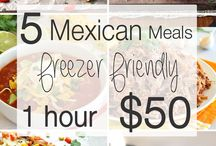 Mexican-inspired meals