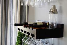 Cremalheiras de vinho de madeira