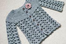 Hæklet/strikket tøj