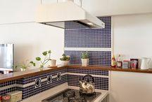 Kitchen & Tiles キッチンとタイル