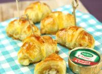 RECETTES / Croissants roquefort