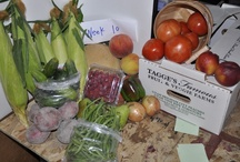 Tagge Farm Basket / Weekly distribution of Tagge's Finest local fruit and veggies for 15 week in the summer!!!
