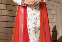 410774: Red and Maroon,White and Off White color family stitched Bollywood Salwar