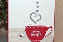 A Nice Cuppa Stampin Up! / Tea Time, Tea Crafts, Stampin Up!, Kettles, Cups, Crafts, stamping, birthdays, mother's day