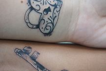 His and her tattoos