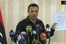 Statements to the Libyan security official: Zaidan arrested on charges of corruption and drug intelligence activities.