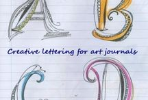 Letters and handwriting