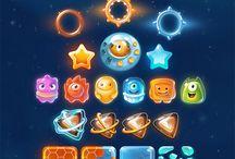 Mobile Game UI/Graphics