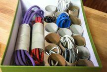 Organizing ideas / by Sue Hammett