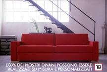 Divani Su Misura Brianza / Divani su misura e su disegno di qualità artigiana. Tino Mariani produce e vende divani su misura e personalizzati di qualità artigiana di linea moderna e classica in Brianza a Lissone.