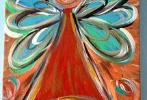 angel / NATUREART week #5 #natureartegyevenat2017 www.artbyildy.com/natureart free year long inspiration course closed fb group: https://www.facebook.com/groups/Natureartegyevenat2017