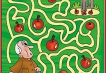 őszi labirintus