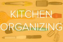 KITCHEN ORGANIZATION / A board with tips and tricks that will help you get everything from your cooking gadgets to your pantry organized.  / by TODAY Show