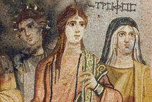 KUNST / Oude mozaïeken / Kunst oudheid / mozaieken