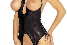 PVC Outfits for Women / When searching to buy PVC pants online, you may choose to buy a set with a high waist because it hides imperfections, but actually it may make pairing pieces together more challenging. Most PVC tops are long in the torso and tucking them into the leggings will apply added extra bulk where you don't want it.