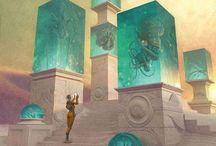 imagine / SF Fantasy art