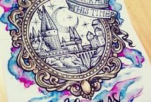 Harry Potter drawings