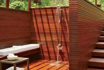 Love outdoor showers!