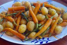 Grøntsager retter