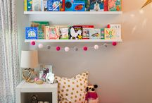 Inspiration for the reading nook/boys area!