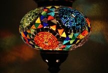 Midi Turkish Mosaic Hanging Lanterns