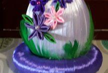 Moje jajko dekoracje wielkanocne prace