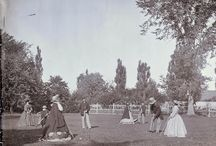 Croquet in Victorian Era