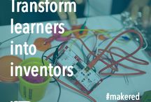 MakerSpace Inspiration / Inspiration for creating and using makerspaces with a focus on how 3D printing can enhance student education in makerspaces.