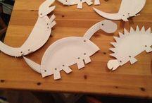 dinozaury z talerzykow