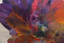Abstract Artwork / Abstract artwork by SANTINI GALLERY artists.