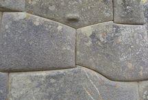 Antike Mauer / Bauweise