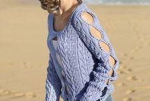 pulovere impletite