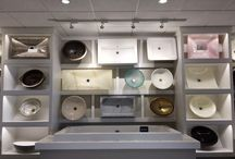 BATH SINKS :: Ablution Solution / Porcelain, Glass, Metal and Wood in a myriad of styles, shapes and colors