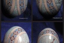 gedecoreerde eieren
